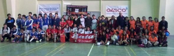 Con gran participación de jóvenes finalizó campeonato de Futsal Copa Colegios Patagónicos 2013