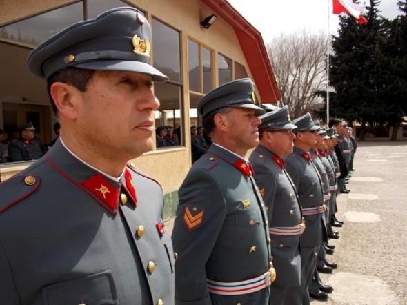 Despedida de los Suboficiales pertenecientes a las diferentes Unidades Regimentarias de la IV División de Ejército