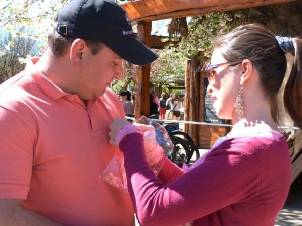 Diversas acciones se desarrollaron para recordar el Día de la Prevención del Cáncer de Mama