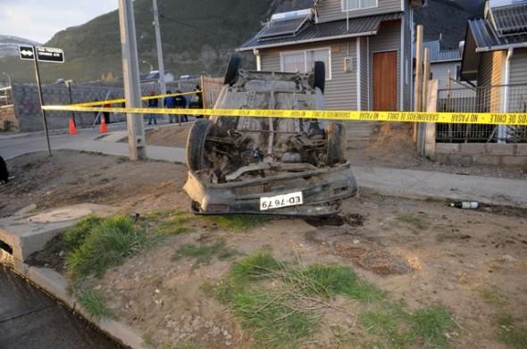 En otro accidente, una persona resultó grave y automovilista se dio a la fuga luego de violenta colisión