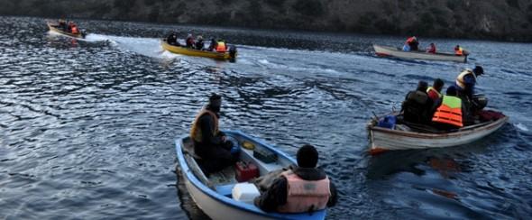 Exitoso campeonato de pesca con devolución en Lago Cochrane