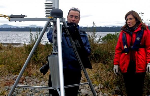 MOP afianza red de información Glaciológica y Meteorológica en la región