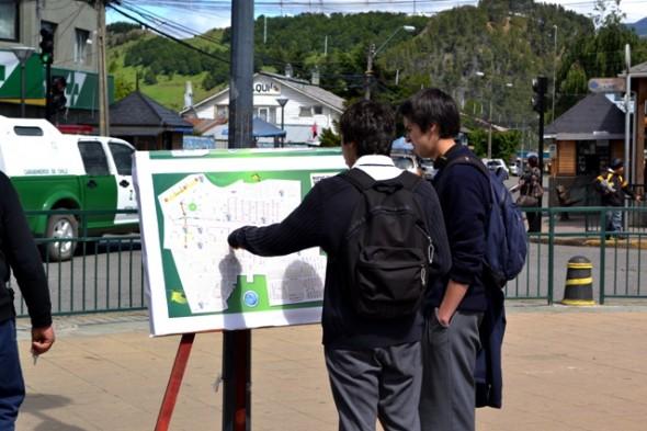 Alcalde evaluó positivamente cambio de tránsito en Coyhaique