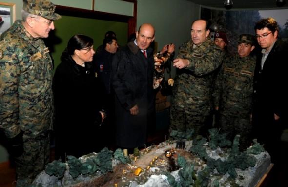 "Se reinauguró Cuartel Militar ""Chaitén"""