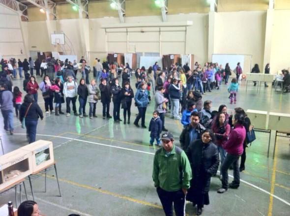 votación Coyhaique