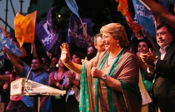 Bachelet gana segunda vuelta Galeria
