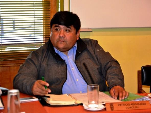 Concejal de Coyhaique, Patricio Adio.