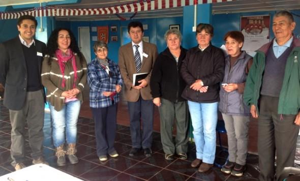 Consejero electo Miguel Ángel Calisto y concejal Florentino Vega gestionan mejoras en los caminos de acceso a Lago atravesado y Villa Frei