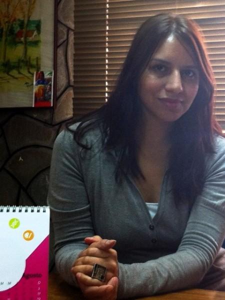 Coordinadora Regional Programa Novasur – CNTV, Claudia Molina.