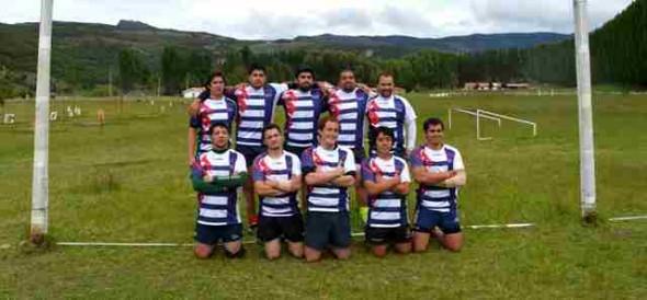Equipo de Rugby.