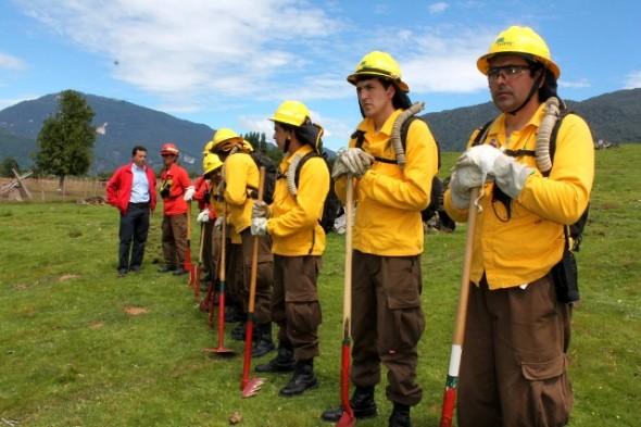 Ministerio de Agricultura realizó capacitación en el uso de quemas controladas a productores y productoras regionales
