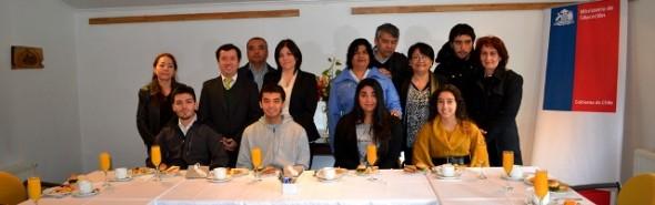 Autoridades felicitaron a alumnos que obtuvieron puntajes  regionales en  la PSU 2013