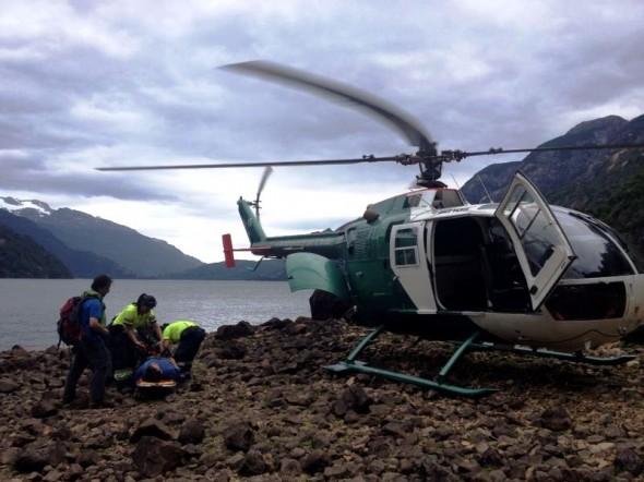 Rescate Carabineros Seccion Aeropolicial