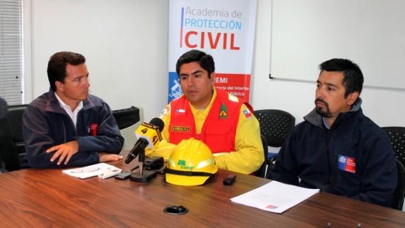 Autoridades regionales dan a conocer estado de los incendios que afectan la región
