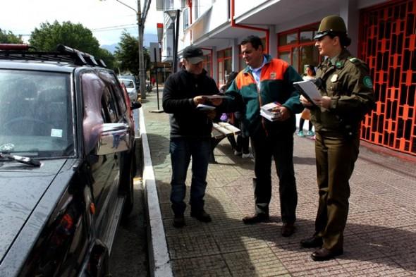 Carabineros difunde campaña preventiva sobre robo de vehículos y accesorios