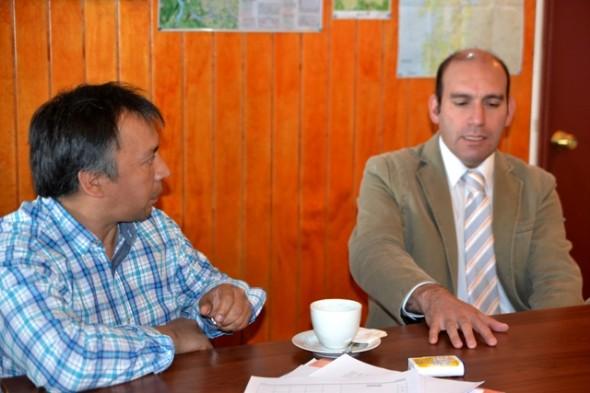 Ejecutivo de la Corporación Municipal de Deportes, Oscar Millalonco