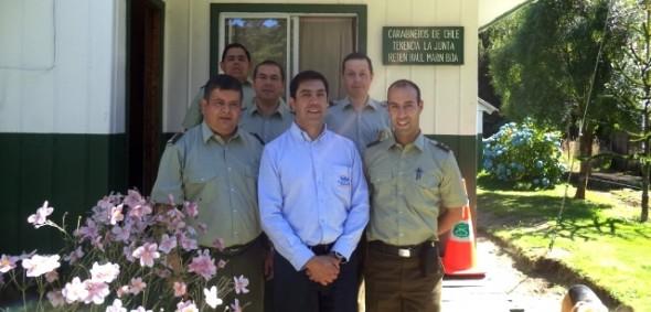 Fiscal Regional y prefecto de Carabineros visitaron destacamentos del sector norte de la región.