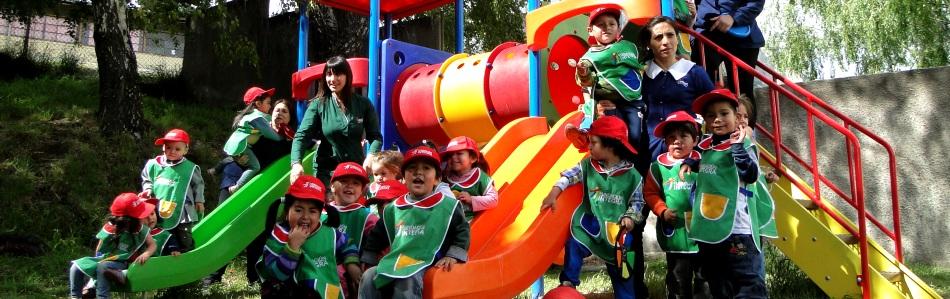 Fundacion Integra Implemento Juegos De Patio En Jardines Infantiles
