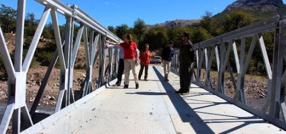 Puente de arroyo Las Vacas