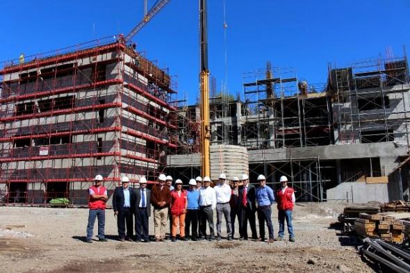 A pasos agigantados avanza nuevo edificio de Gobierno Regional