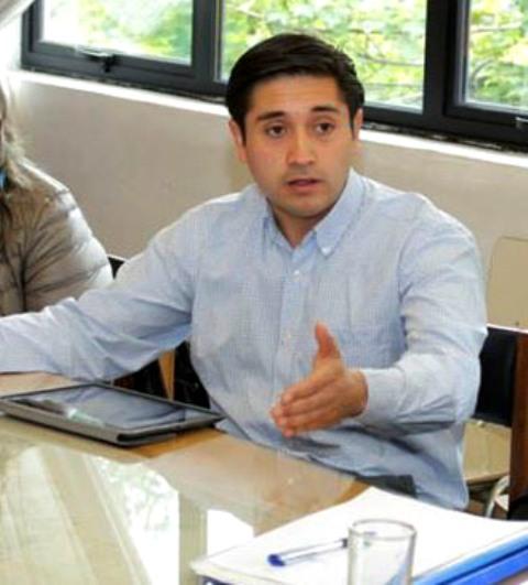 Consejero regional de Aysén y vocero de la Agrupación Sembrando Futuro, Miguel Ángel Calisto