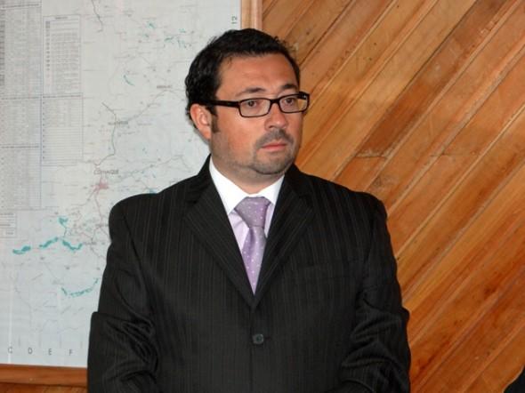 Cristián López Montecinos, gobernador de Coyhaique.
