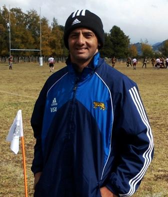 Federico Todeschini, tercer lugar en la Copa del Mundo en 2007 con los Pumas, dictó clínicas en Coyhaique.