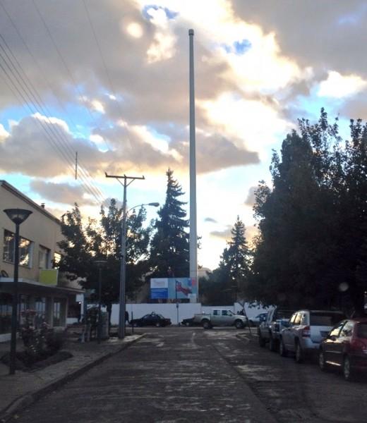 Mastil Bandera Bicentenario Coyhaique