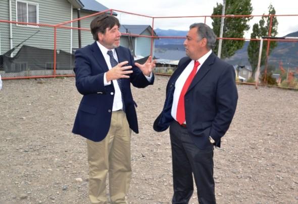 Subsecretario Cifuentes y Alcalde Alejandro Huala