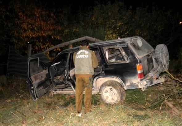 Accidente Transito joven 20 años Coyhaique