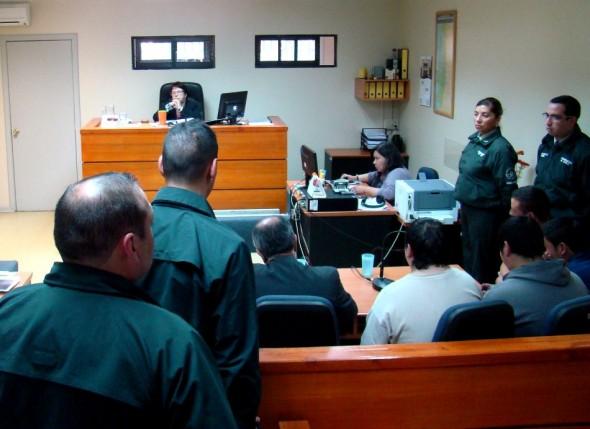 Audiencia detenidos cajas fuerte