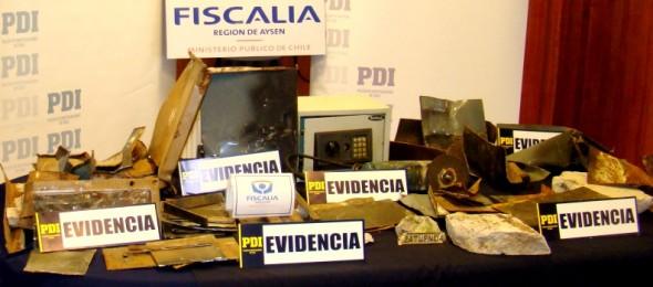 Evidencia detencion banda cajas fuerte