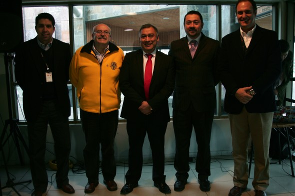 Jose Ahumada, Hector Cantin, Alejandro Huala, Gobernador, Andres FernandesA