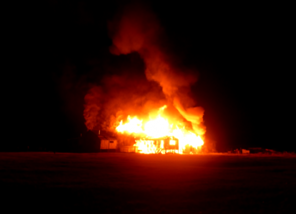 Nuevo incendio afectó al Parque Patagonia..