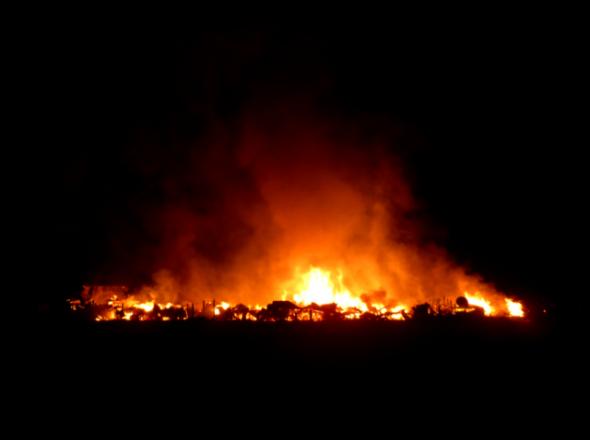 Nuevo incendio afectó al Parque Patagonia...