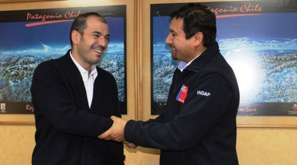 nuevo director Indap Marcelo Hernandez