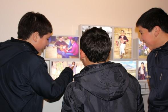 Alumnos exposicion cultura