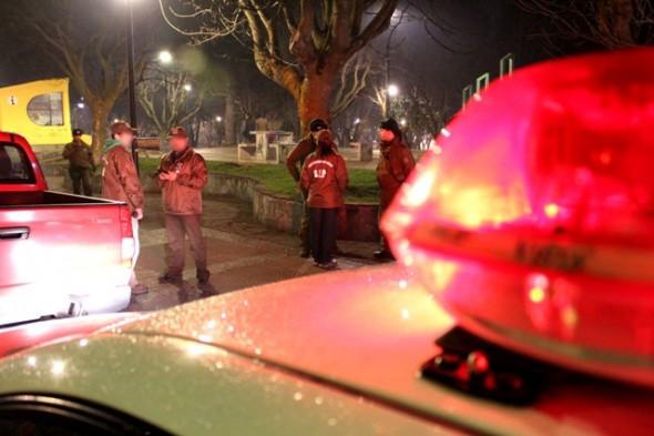 Carabineros adoptó diversos procedimientos por porte ilegal de arma blanca y lesiones durante el fin de semana