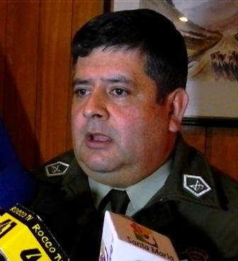 Coronel Sergio Alarcon, prefecto de Aysén