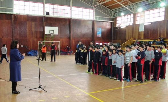 Intendenta con Niños en actividades deportivas Coyhaique