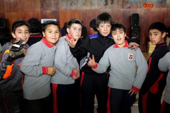 Niños en actividades deportivas Coyhaique