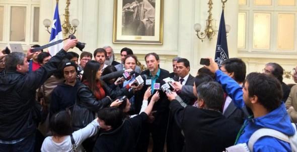Plebiscito para una AC punto de prensa 3