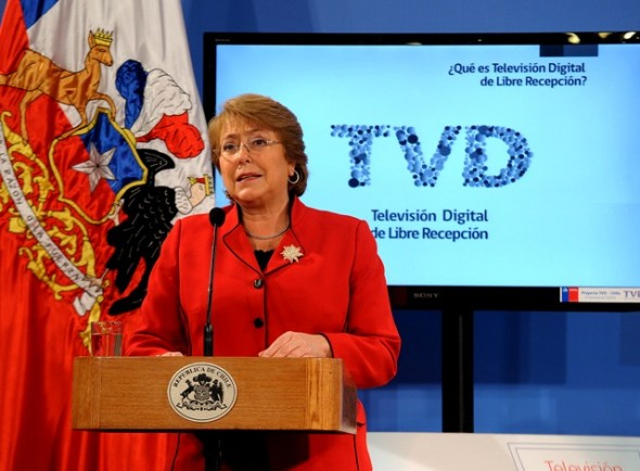 TV Digital Bachelet Ley