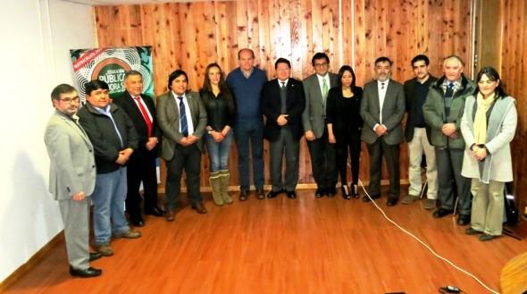 Umag y autoridades Coyhaique