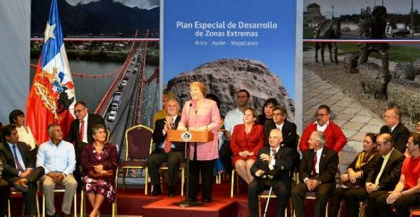 Arica Presidenta Plan Zonas Extremas