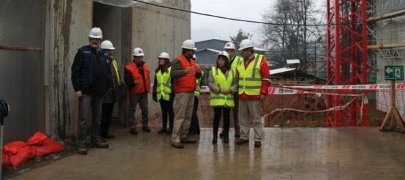 Autoridades conocieron estado de avance del nuevo Hospital de Puerto Aysén
