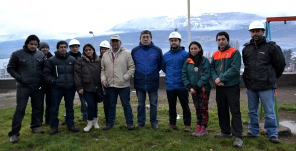 Dos grandes obras se inician en la Población Cerro Negro a través del Programa Quiero mi Barrio en Coyhaique