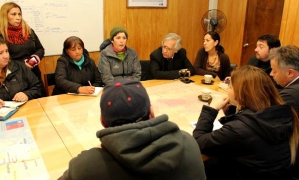 Gobierno se reunió con personas afectadas por no recibir subsidio a la calefacción.