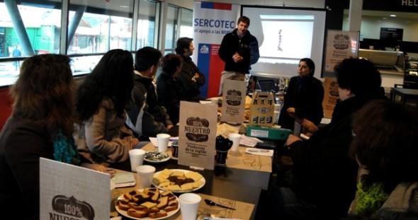 Microempresarios de Sercotec.