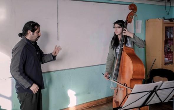 Orquestas Infantiles profesor